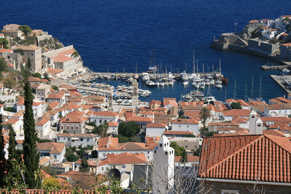Hydra, view from top